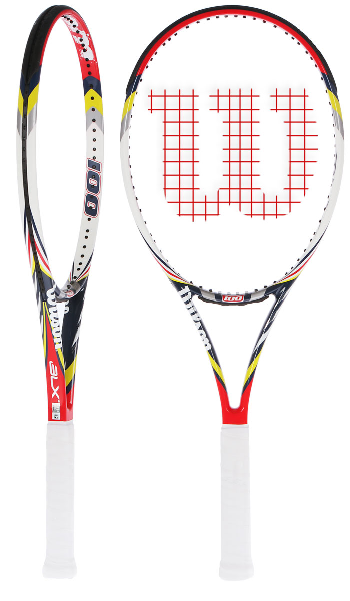 Raqueta Wilson Steam 100 BLX 2012 380.000